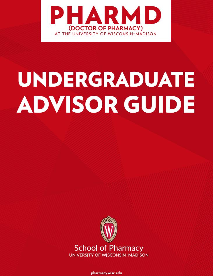 Undergraduate Advisor Guide Cover